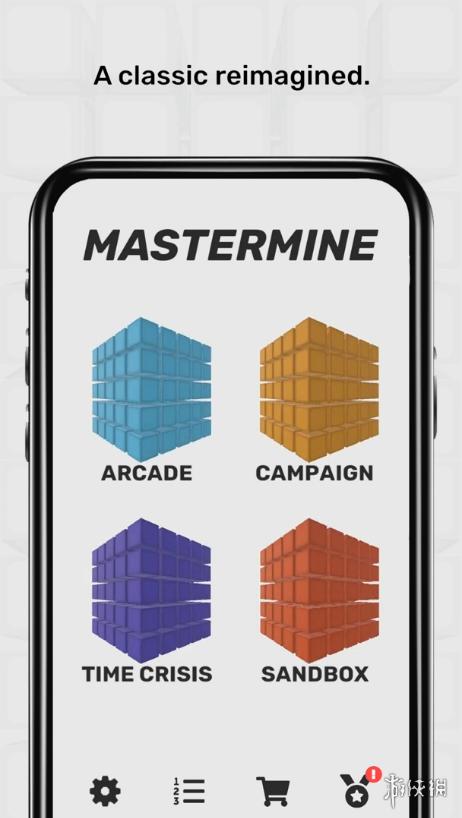 """免费""""3D扫雷""""游戏《Mastermine》上架移动端!"""