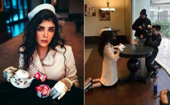 这些时尚美照都是假的!摄影成片vs幕后拍摄的对比图
