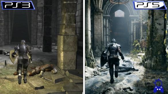 《恶魔之魂:重制版》PS5 VS PS3画面对比 质的飞跃