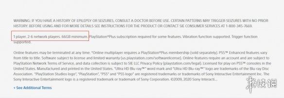 PS5《蜘蛛侠:迈尔斯》105GB!《恶魔之魂》65GB