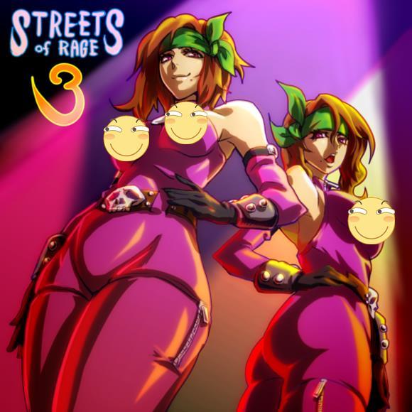 街机游戏人气超高的反派姐妹花 两个一起上也无所谓