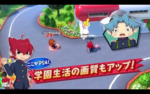 《妖怪学园Y》PS4版将于10月29日推出 60帧高分辨率