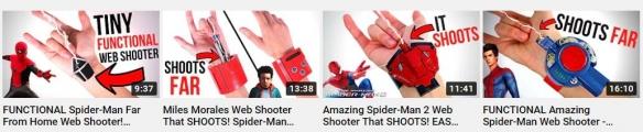 手工自制《漫威蜘蛛侠》蛛网发射器 还原度高真的能射