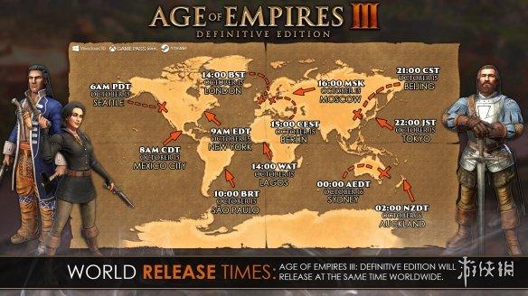 《帝国时代3决定版》预载已开启 三种UI界面自由选择