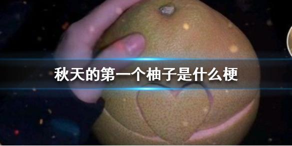 秋天的第一个柚子是什么梗 秋天的第一个柚子梗出处介绍