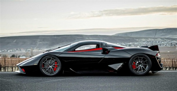 """""""全球最速量产车""""诞生:极速超483km/h!超过布加迪"""