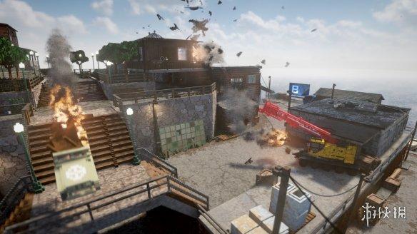 超强物理沙盒游戏《拆迁》或将于月底开启抢先体验!