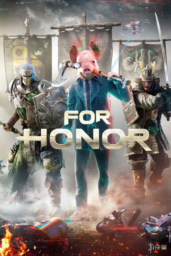 全员猪头!育碧游戏封面遭《看门狗:军团》成员入侵