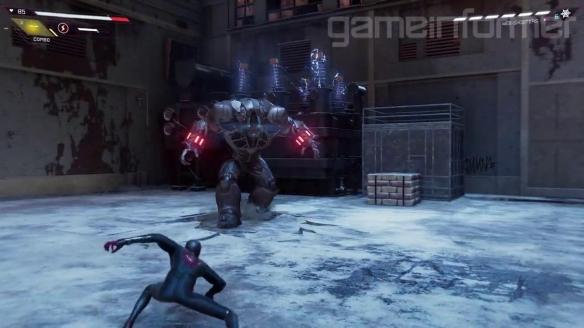 《蜘蛛侠:迈尔斯》曝战斗演示 将有更多的AOE攻击