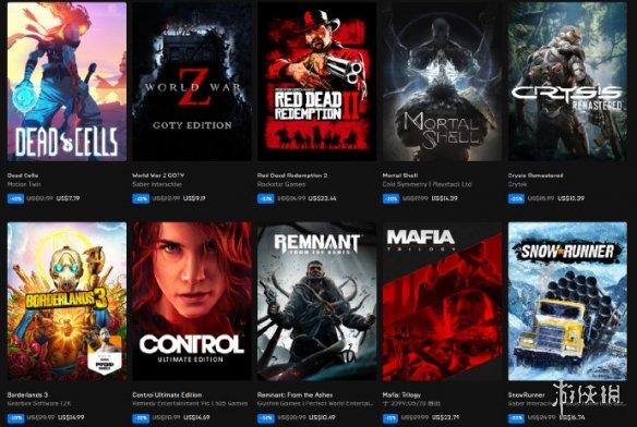 Epic2020年万圣节特惠开启:各大精品游戏最高可省75%