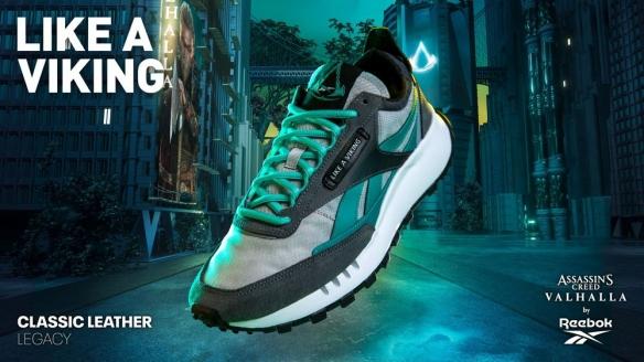《刺客信条:英灵殿》与REEBOK联名鞋子 你会买单吗?