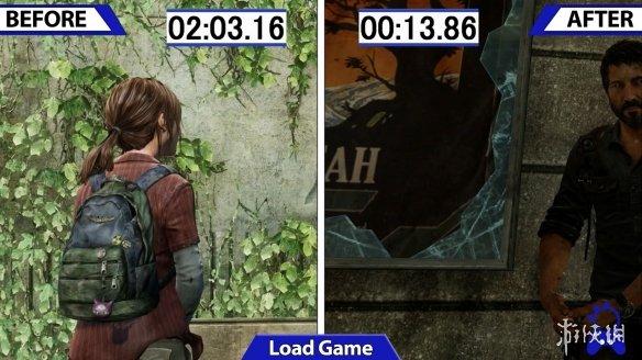 《美国末日》PS4重制版更新:加载速度提升近8倍!