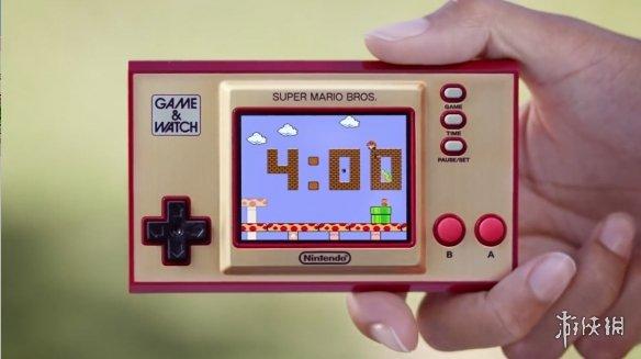"""""""超级马力欧""""「Game&Watch」新预告公布 320元!"""