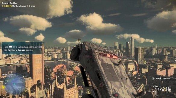 《看门狗:军团》bug视频合集 飞车、绿人、地底世界等