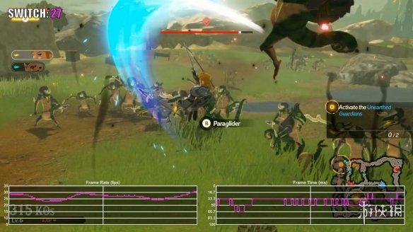《塞尔达无双:灾厄启示录》demo测试 20-30帧浮动