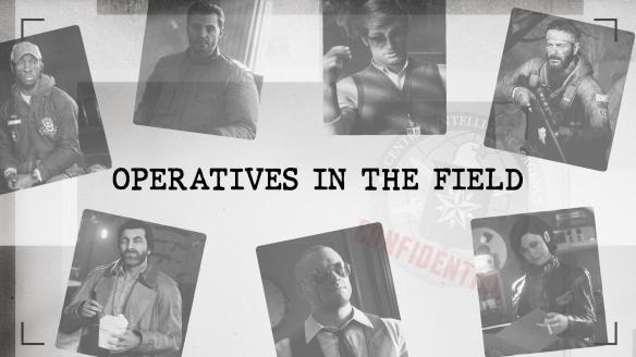 《使命召唤17:黑色行动冷战》公开主要角色档案 !