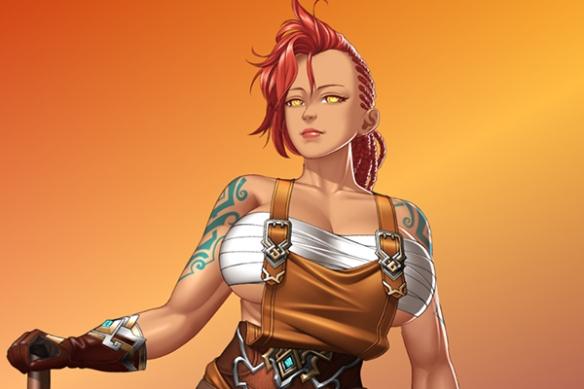 女妖实在太大!绅士社保《Happy Quest》Steam发售