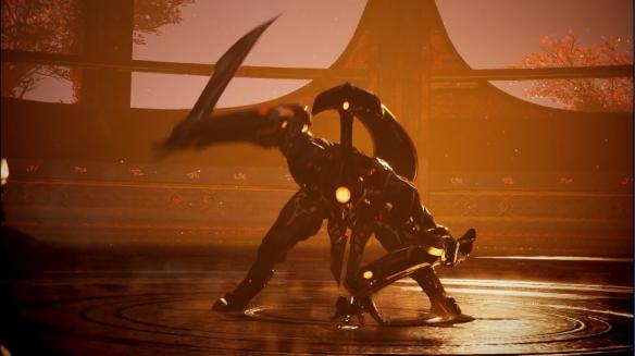 《众神陨落》PS5实机演示!银鬃大锤大战金刀BOSS
