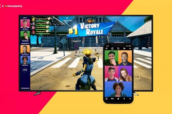 《堡垒之夜》游戏内视频聊天 队友畅聊欢乐游戏