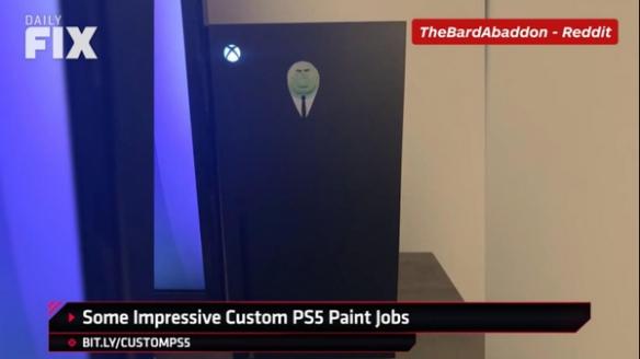 玩家创意DIY自制PS5主机前面板 设计感堪比官方!