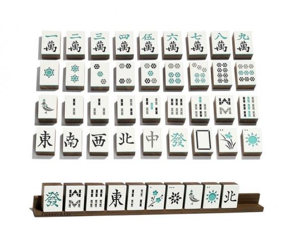 价值将近10万的麻将!蒂芙尼推出超豪华麻将套组
