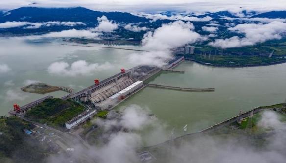 三峡电站年累计生产电能1031亿千瓦时!问鼎世界纪录!