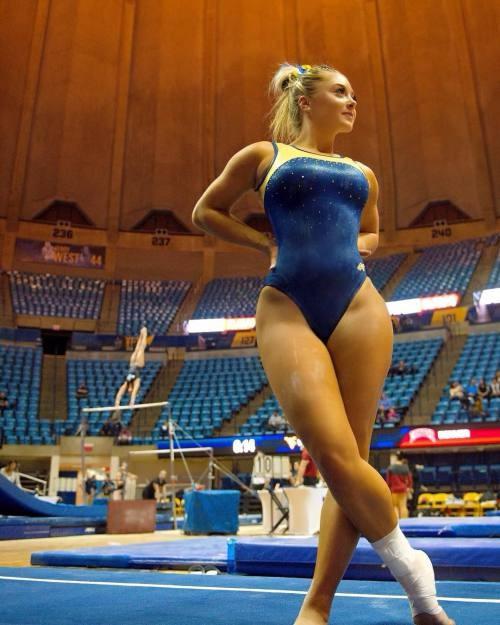 莱莎同款粗腿小精灵!美国体操运动员Chloe Cluchey