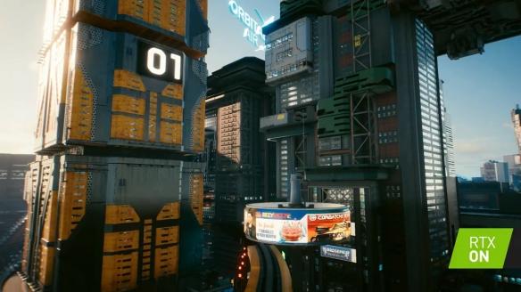 《赛博朋克2077》曝新演示 夜之城的实时光追体验!