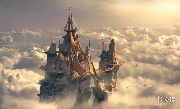 《圣歌》公布2.0全新概念图 如梦如幻的华丽世界!
