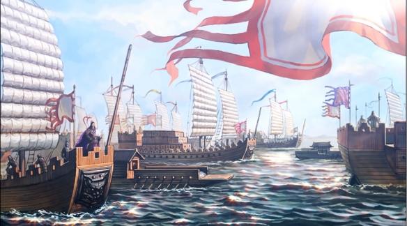 《三国志14威力加强版》片头动画!赤壁之战三分天下