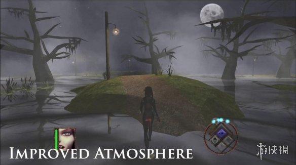 《吸血莱恩》1&2终极版Steam好评 性感女主怀中抱妹杀