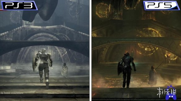 《恶魔之魂》PS5重制版 vs PS3原版 终极对比视频!