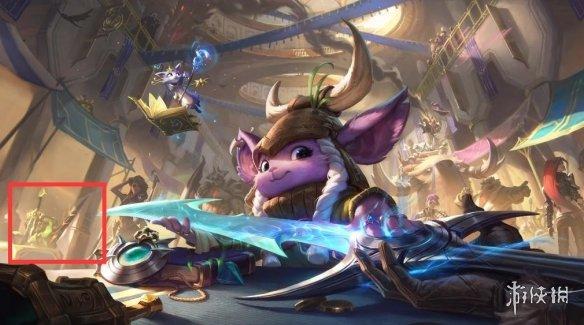 《英雄联盟》发布神秘预告 或曝光新英雄的武器!