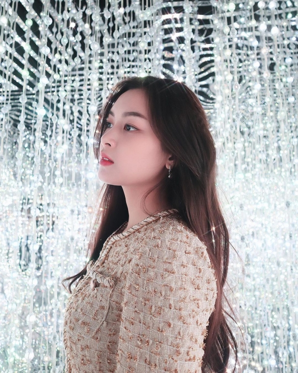 因一张照片爆红的越南正妹Sophie 网友:最美初恋女孩