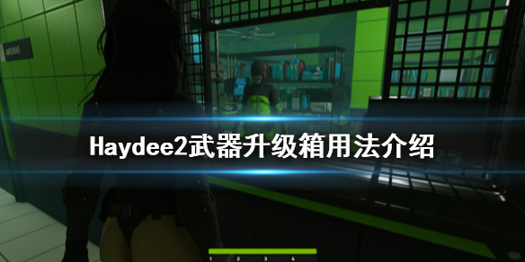 《Haydee2》武器升级箱怎么用 武器升级箱用法介绍