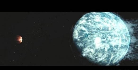 刘慈欣监制《流浪地球2》公布概念海报:再见太阳系!