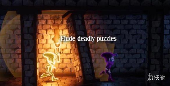 逃离恐怖城堡!合作PC冒险游戏《来自暗影》即将推出