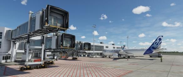 《微软飞行模拟》曝全新截图 客机、机场细节展示!