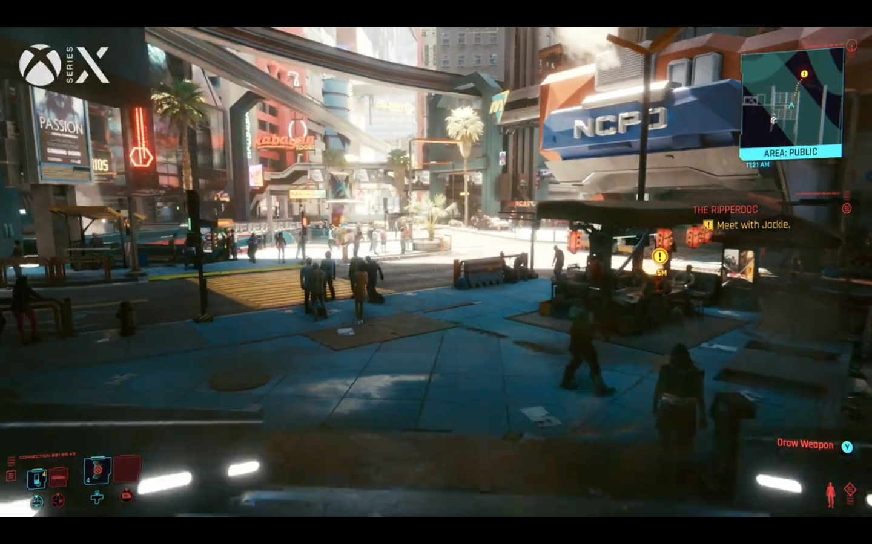 PS5与XSX对比!分析次时代主机《赛博朋克2077》表现
