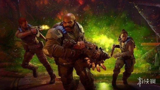 """IGN公布《战争机器5》DLC""""蜂巢破坏者""""评分:8分"""