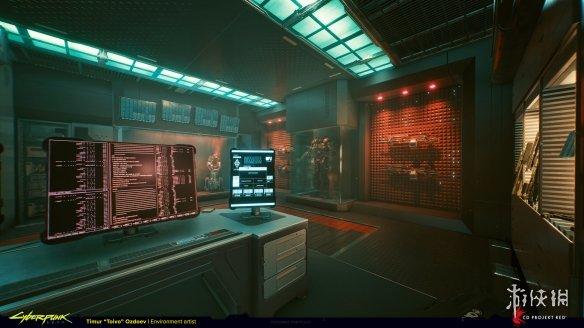 《赛博朋克2077》概念艺术图 暴力美学的视觉盛宴!