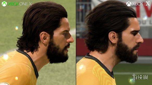 《FIFA 21》新主机版测试 寒霜引擎升级毛发效果惊人