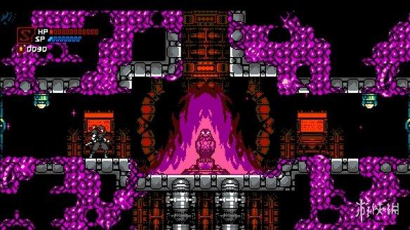 复古风格的横版像素动作游戏《赛博暗影》专题站上线