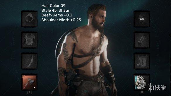 玩家分享《刺客信条 英灵殿》捏脸MOD 更多发型选择