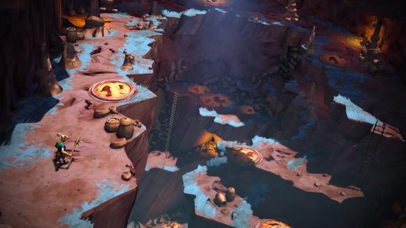 动作类迷宫探索游戏《Gods Will Fall》游侠专题站上线