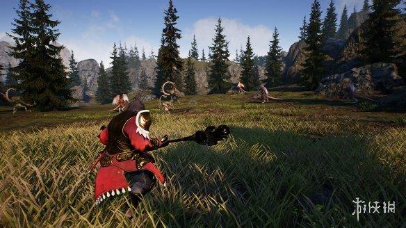 开放世界MMORPG《神佑释放》上架Steam!明年初发售