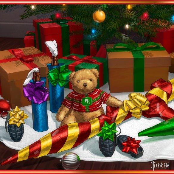 育碧 暴雪 索尼等厂商发布圣诞贺图!喜迎圣诞假期