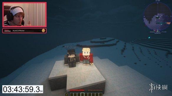 玩家在《我的世界》1:1还原珠穆朗玛峰 4小时内登顶!