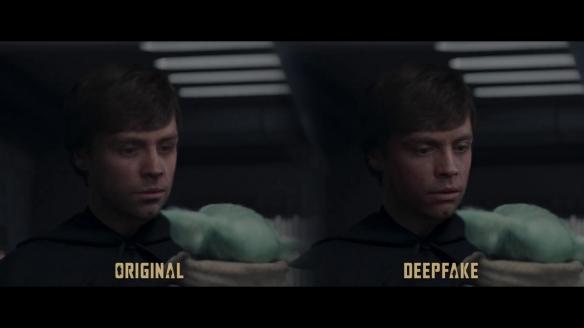 网友重制《曼达洛人》第二季大结局 哪个卢克更年轻?