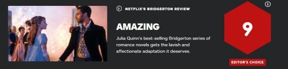 网飞剧集《布里奇顿》获 IGN9分:快按下播放键吧!